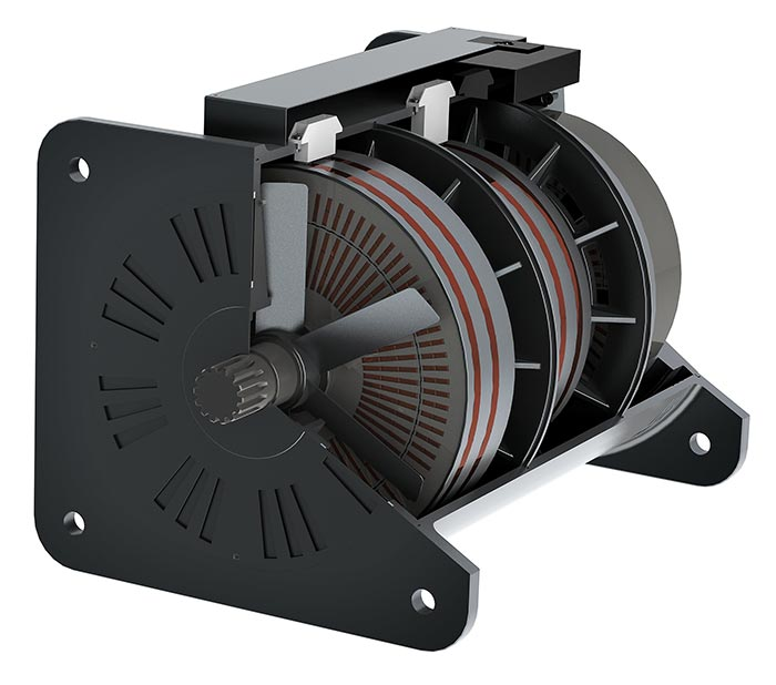 High speed chain electric motor
